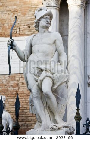 Statue Of Mars Ares