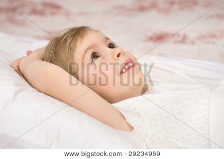 Sweet dreams at bedtime