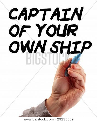 Hand Strategy Captain Of Your Ship