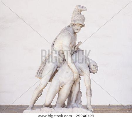 Menelao And Patroclo