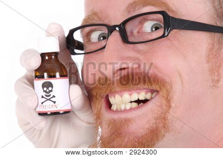 Doctor With Poison Bottle