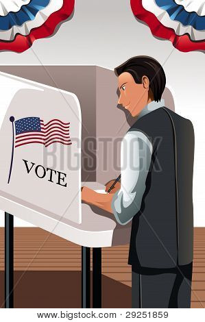 Voting Man