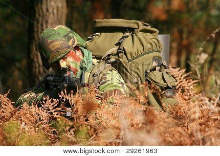 Military training combat