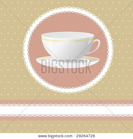 Invitation for tea time