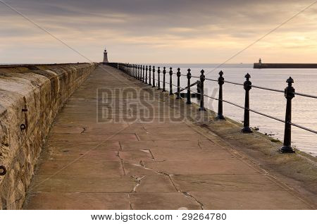 Tynemouth North Pier