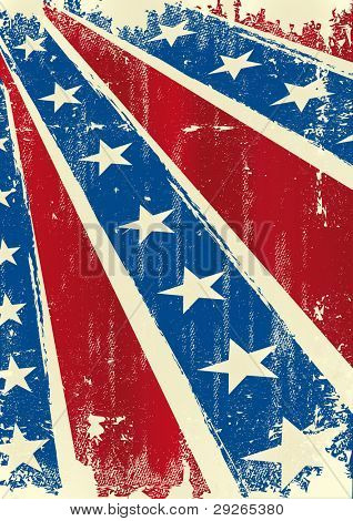 Confederate poster . Background of Confederate poster with a grunge texture for you
