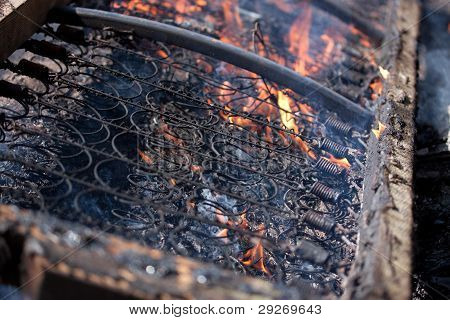 Bed On The Fire