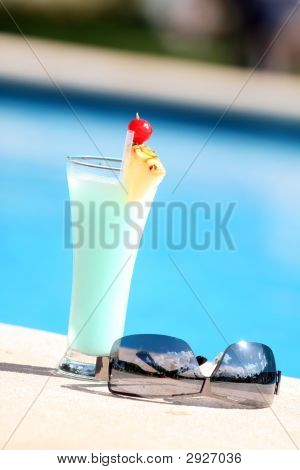 Cocktail On The Pool