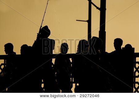 Silhouettes of Istanbul
