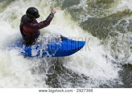 Whitewater Surfing