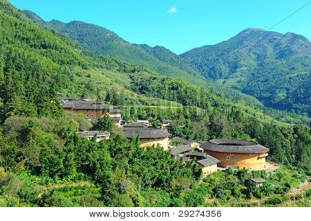 Hakka dwellings in China