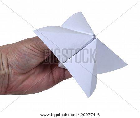 Holding Paper Decision Maker