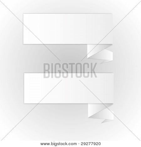 Form paper brochure leaflets.