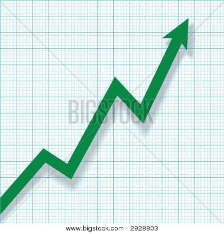 Profit Chart Graph Paper.Eps