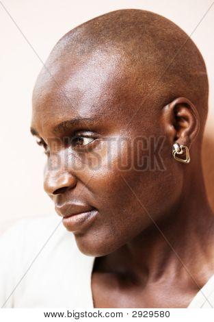 Poor African Woman
