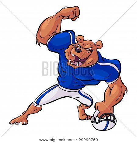 Footbal Bear Victory