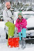 image of snow shovel  - Winter - JPG