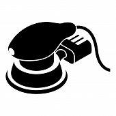 Circular Sheet Sander Icon. Simple Illustration Of Circular Sheet Sander Icon For Web Design Isolate poster
