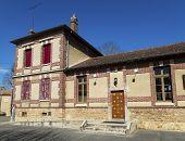 Library Of Crecy La Chapelle, Seine-et-marne, Ile-de-france, France poster