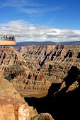 foto of grand canyon  - Visitor platform at Grand Canyon West near Las Vegas - JPG