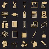 Academic Degree Icons Set. Simple Set Of 25 Academic Degree Vector Icons For Web For Any Design poster