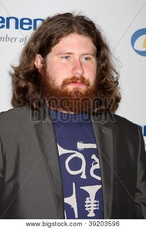 LOS ANGELES - NOV 16:  Casey Abrams arrives for the 11th Annual Celebration of Dreams at Bacara Resort & Spa on November 16, 2012 in Santa Barbara, CA