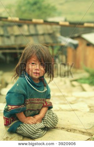 Little Sapa Girl