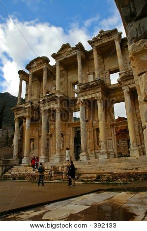 The Great Library Of Ephesus