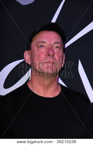 LOS ANGELES - NOV 20:  Neil Peart of RUSH at the ceremony where RUSH is Inducted Into Guitar Center's RockWalk at Guitar Center on November 20, 2012 in Los Angeles, CA