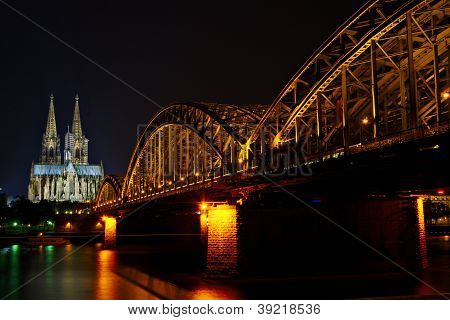 Koln Dom and Hautpbanhof