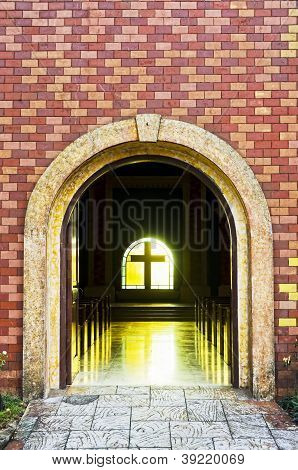 Church Arch Entrance
