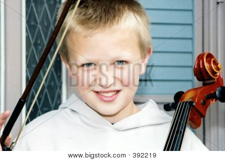 Little Cellist 1
