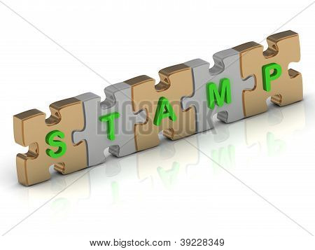 Stamp Word Of Gold Puzzle