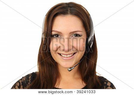 Happy Callcenter Agent