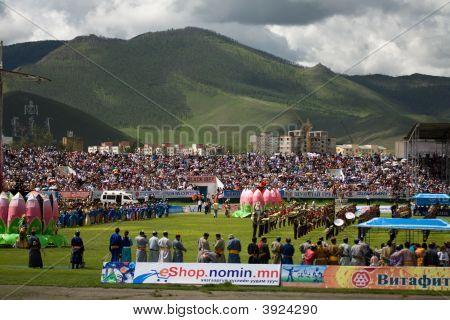 Opening Ceremonies Nadaam National Games