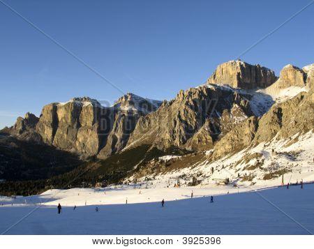 Dolomiti, Canazei - Pekol Lift