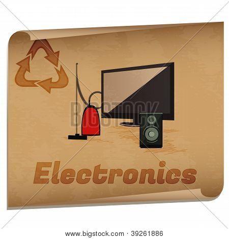 Reciclagem eletrônica Memo