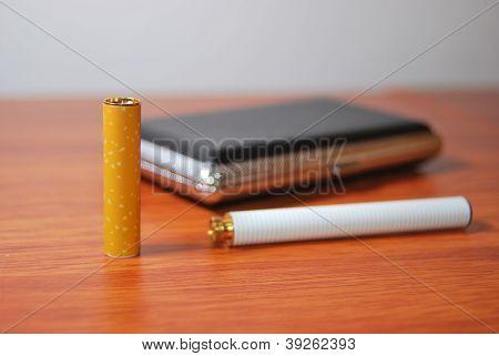 e- cigarette