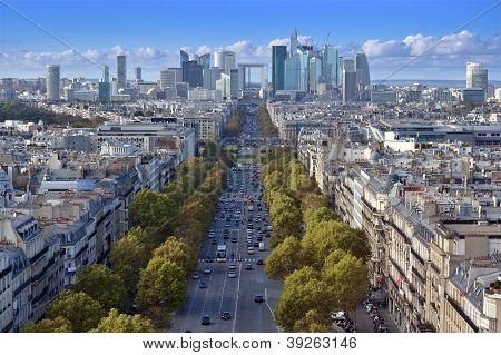 The Avenue De La Grande Arm�e.