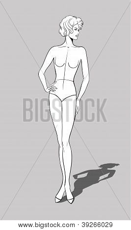Female Fashion Figurine