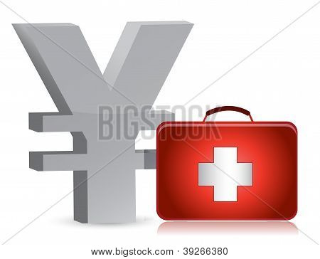 Yen And Medical Kit