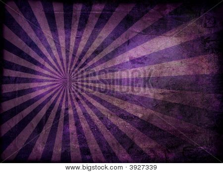 Grunge Radiate Purple