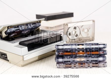 Compact Cassettes And Cassette Player
