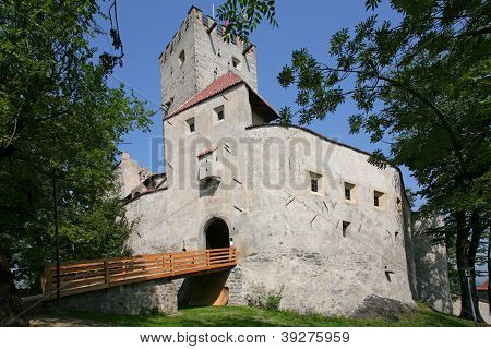 Brunico Castle. Brunico In South Tyrol External