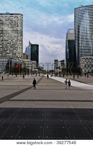 Paris Business District---La Defense