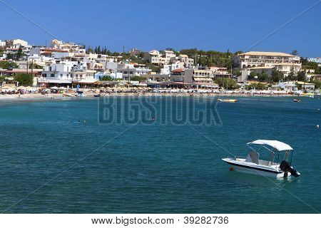 Aghia Pelagia bay at Crete island in Greece