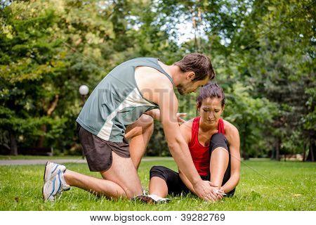 Sport Injury - Helping Hand