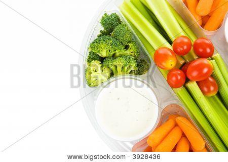 Raw Veggie Tray