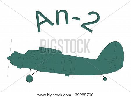transport cargo military aircraft An-2