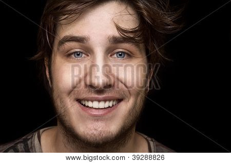 Portrait of smiling Caucasian man